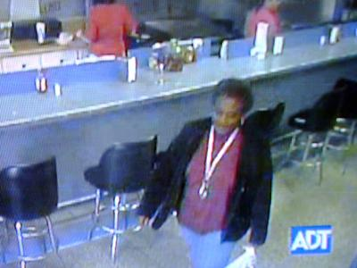 A surveillance image of Candy Mae Bullock at La Placita on Benvenue Road in Rocky Mount on Nov. 24, 2009. Bullock is the subject of a Silver Alert.