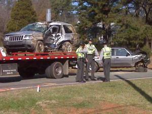 Two women were killed when their Jeep was hit at Guess Road and N.C. 57 in northern Orange County on Nov. 27, 2009.