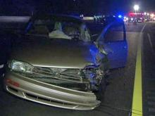 Police were on the scene of a multi-vehicle wreck on I-440 west at Glenwood Avenue in Raleigh on Nov. 27, 2009.