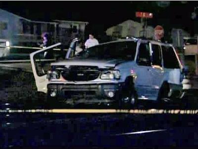 Two children were killed and their mother injured when a train and vehicle collided Wednesday, Dec. 9, 2009, near the intersection of Ellis Road and Angier Avenue in Durham.