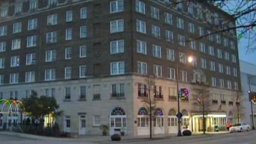 The Hotel Prince Charles is located at 450 Hay Street in Fayetteville.