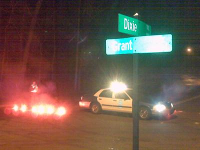 A broken water main closed a portion of Dixie Trail in Raleigh on Dec. 31, 2009.