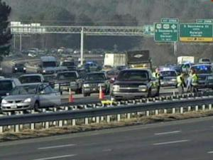 A pedestrian was involved in a wreck on Interstate 40 East, south of downtown Raleigh, Friday morning, police spokesman Jim Sughrue said. The wreck was one of two that backed up traffic on I-40, between Lake Wheeler and Hammond roads, during the morning rush hour.