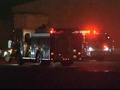 Firefighters rushed to an industrial plant fire at DuBose Strapping Inc., 906 Industrial Drive in Sampson County, on Jan. 21, 2010.