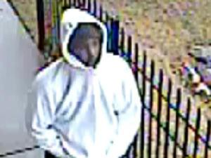 Raleigh police are investigating a robbery at the New Hope Business Center, at 1600-101 Ronald Drive. This surveillance image was taken during the Jan. 25, 2010, robbery.