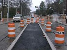 Last spring, construction began on the project to make Hillsborough Street more pedestrian and traffic friendly.