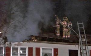 A fire significantly damaged a home at 6242 Mitchell Mill Road, near Louisburg Road, in north Raleigh early Monday, Feb. 15, 2010, fire officials said.