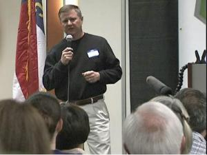 GOOOH, or Get Out of Our House, launched a petition drive to be recognized as an official party in North Carolina. The group held an event in the Raleigh Convention Center on Saturday, Feb. 21, 2010.