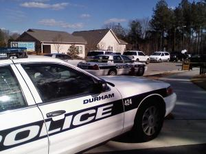 Authorities on Saturday, Feb. 27, 2010, investigated an officer-involved shooting on Rosaline Lane, near Juliette Drive in southern Durham.