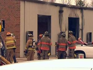 A Complete Autoshop on Wolfpack Lane in Durham caught fire Tuesday evening.