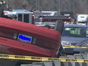 A crash in Durham County claimed a life Wednesday.