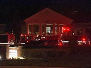 A fire forced residents at Abbotswood at Stonehenge to temporarily leave the assisted living facility Monday evening.