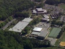 Chapel Hill High School campus