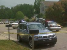 Two people were shot in the 600 block of Stratton Way in northern Durham in the late morning of Sunday, April 25, 2010.