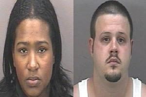 Darleene April Fernandez and Christopher Ray McBride (left to right)
