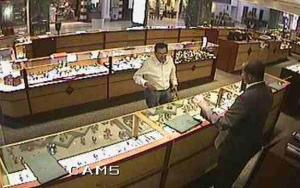 Fayetteville police are trying to identify a man they say spent more than $10,00 at a local jewelry store using a fraudulent credit card.