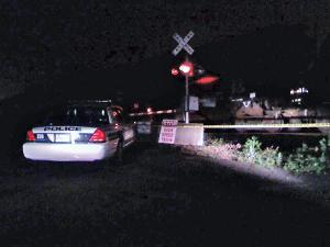 A man was struck and killed Sunday, May 23, 2010, by a Norfolk Southern train on Hillsborough Road near Main Street.