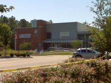 Durham police evacuated the U.S. Bureau of Citizen & Immigration Services office, at 301 Roycroft Drive, Tuesday morning after a suspicious package was found.