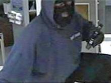 Bank robber's violence escalating