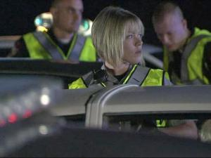 A checkpoint at Wade Avenue and Interstate 40 Saturday night found 79 violations, said Phyllis Stephens, spokeswoman for the sheriff's office. Agents arrested three people wanted on outstanding warrants and issued 10 citations for DWI and three for having an open container of alcohol in a vehicle.