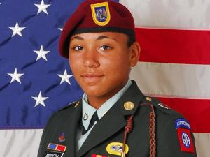 Spc. Morganne M. McBeth, 19, of Fredericksburg, Va., died July 2, 2010, of injuries sustained in a non-combat-related incident in Iraq. McBeth belonged to the 1st Special Troops Battalion, 1st Brigade Combat Team, 82nd Airborne Division, based at Fort Bragg.