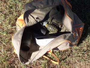 Live ammunition found in Roanoke Rapids. (Photo courtesy of the Halifax County Sheriff's Office)
