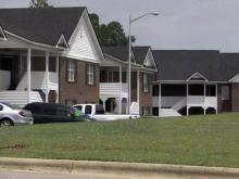 Morganton Crest apartment complex in Fayetteville