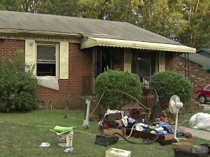 A person was killed Sunday, Aug. 15, 2010, in a house fire in the 2400 block of Nebo Street in Durham, firefighters said.