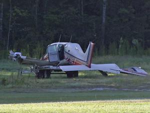 The Federal Aviation Administration is investigating after a single-engine plane crashed Sunday in Cumberland County.
