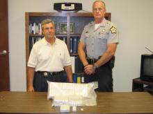 Sampson County deputies say they caught a 59-year-old Wilmington man trafficking $720,000 worth of heroin along Interstate 40.