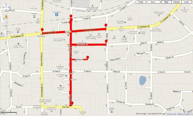 Lazy Daze street closures