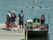 Crews search water for missing Raleigh man