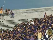 Bleachers collapse during ECU game