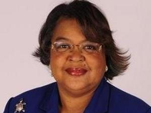 Saint Augustine's College President Dianne Boardley Suber