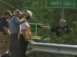 Two Raleigh women have died after the car in which they were traveling went off the road and landed in a creek on Saturday, Sept. 18, 2010.