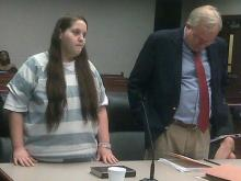 Kristin Ann Wills pleads guilty on Sept. 22, 2010, to involuntary manslaughter in the death of her son.