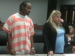 Shandu Slaughter pleads guilty on Sept. 22, 2010, to involuntary manslaughter in the death of his son.