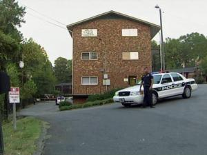 Durham police say that two men in their early 20s, were shot in the back parking lot at Hampton Crossings Apartments, 405 Pilot St., shortly before 6 p.m. on Wednesday, Sept. 22, 2010.