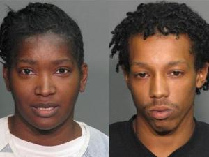 Lachelle Clark (left) and Amir Brown (right)