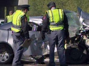 One person died in a wreck on Interstate 540 in Wake County on Dec. 9, 2010.