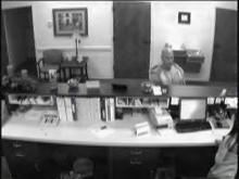 Surveillance photo from Randolph Bank in Mebane.