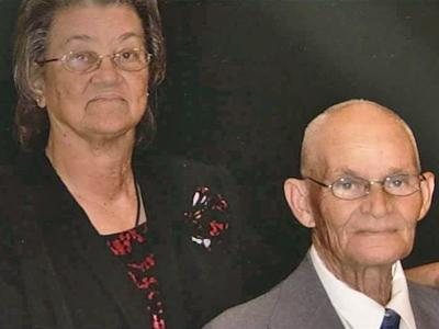 Elizabeth and Henry Goins