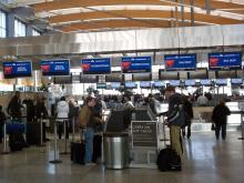 The long lines caused by weather delays had abated at RDU by Wednesday morning.