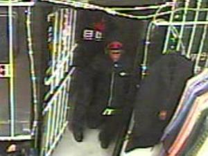 Fayetteville police are trying to identify the men who robbed the Gold Factory jewelry store on Morganton Road on Dec. 23, 2010.