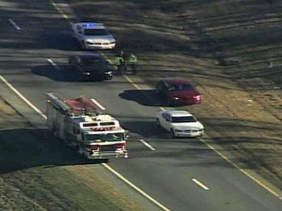 Law enforcement were on the scene of a possible pipe bomb on U.S. Highway 70 in Wayne County on Jan. 3, 2011.