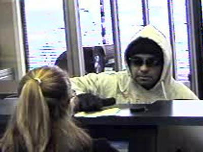 Hope Mills police were searching for a man who robbed an RBC Bank branch on Jan. 12, 2011.