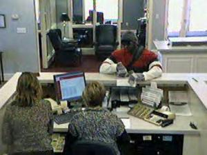 Lillington police are trying to identify this man who they say robbed the First Bank on Main Street on March 8, 2011.