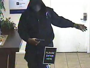 Fayetteville police were searching for a man who robbed the First Citizens Bank branch at 2617 Bragg Blvd. on March 25, 2011.