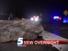 The Wake County Sheriff's Office is trying to figure out who put large rocks in the middle of a road overnight, damaging at least two vehicles. Deputies responded to calls about damaged vehicles on Banks Road, off U.S. Highway 401 in southern Wake County, around 2 a.m. Thursday.
