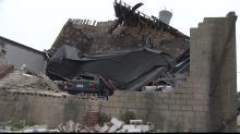 South Saunders Street tornado damage